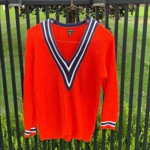 Willi Smith Preppy VNeck Sweater